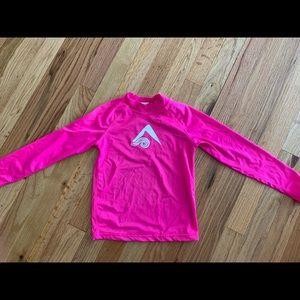 Kanu Surf sun/rash guard . Pink.